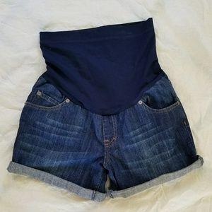 Liz Lenge Maternity Jean Shorts